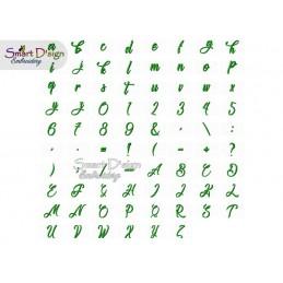 SUNSET Annies ABC Alle Buchstaben, Zahlen & Sonderzeichen max 2 cm hoch