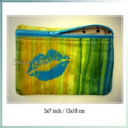 Sweet Lips ITH Zipper Bag 5x7 inch