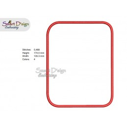 BLANK APPLIQUE PATCH for MousePad Machine Embroidery Design