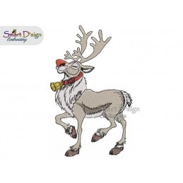 REINDEER DANCER Machine Embroidery Design