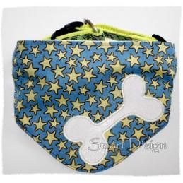 8 Dog Collar Bibs Bandanas 5x7 inch ITH