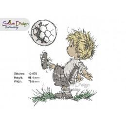 Little Soccer Fan