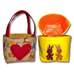 Basket & Bags 12 Easter Motifs 7x11.2 inch ITH