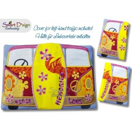 LOVE BUS ITH Notebook Cover A5