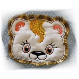 Baby Zoo 9+1 Animals with Fringed Mane 4x4""