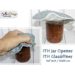 ITH Jar Opener Blank 5x7 inch Machine Embroidery Design