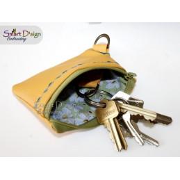 ITH Schlüsseltasche mit Lasche 13x18 cm Stickdatei