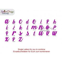 Annies ABC Alle Buchstaben, Zahlen & Sonderzeichen max 4,5 cm hoch