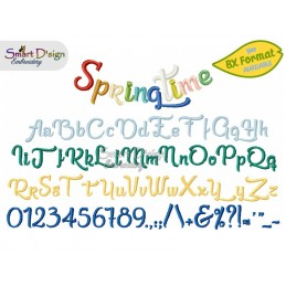 Springtime Alphabet Set