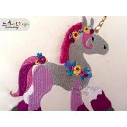 Magic Unicorns and Pegasus 5x7 inch
