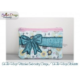 ITH CELEBRATION BOW Cosmetic Bag