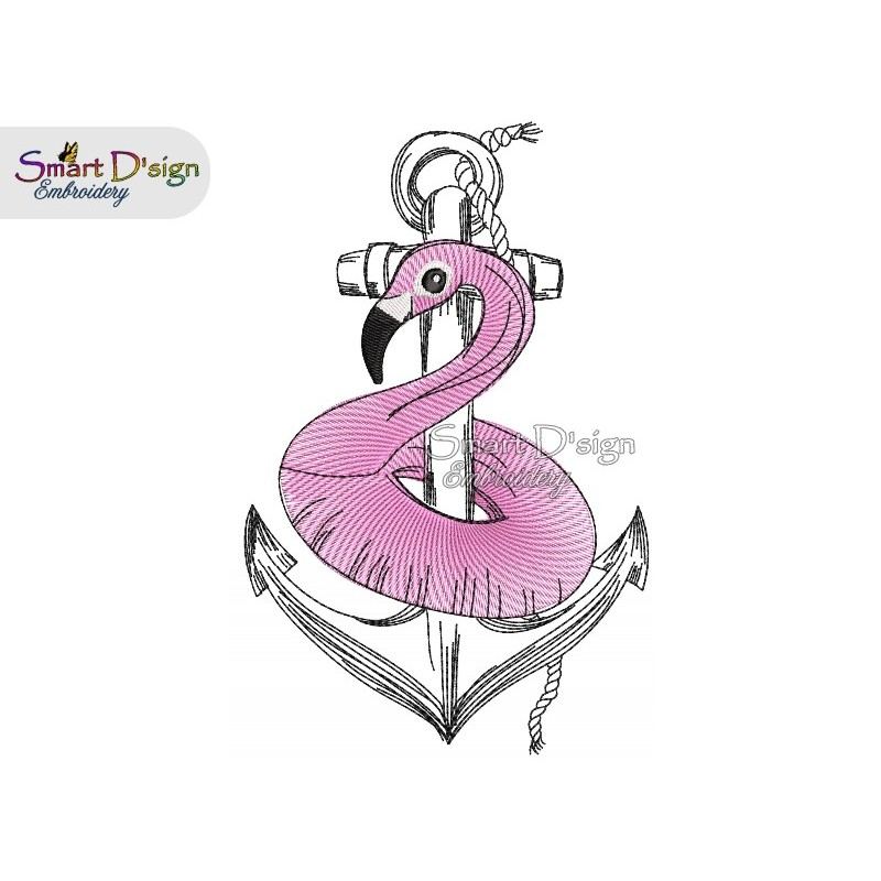 Anchor Flamingo