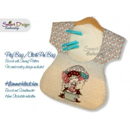 Ebook Sewing Tutorial PEG BAG / CLOTH PIN BAG