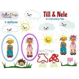 Till & Nele Set 16 Motifs...