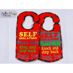 ITH Door Signs Self Isolation
