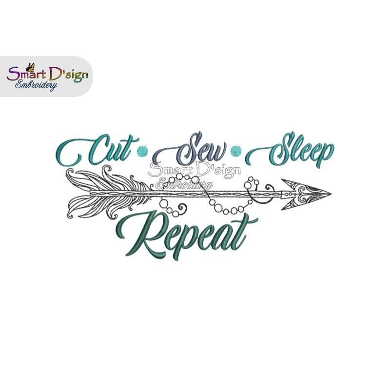 CUT SEW SLEEP REPEAT Boho Arrow