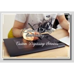 Custom Digitising Service TWILL