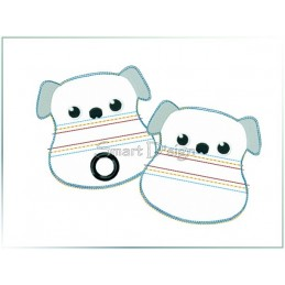 ITH Set 2 Doggy Bags DOG 4x4 inch