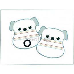 ITH Set 2 Doggy Bags HUND 10x10 cm