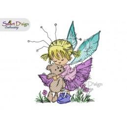 LITTLE DAISY Doodle Garden Fairy