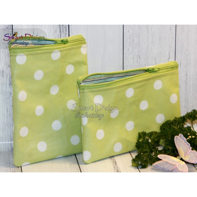 ITH Zipper Bag - Blank with space for motifs