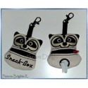 ITH Set 2 Doggy Bags SKUNK 4x4 inch