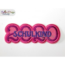 SCHULKIND 2020 Applique Patch
