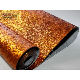 BLING BRONZE - Glitzervinyl