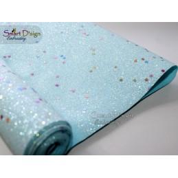 CONFETTI BRIGHT BLUE - Glitter Vinyl