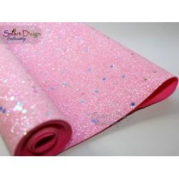 CONFETTI PINK - Glitter Vinyl
