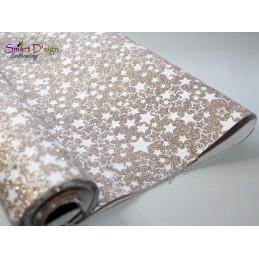 GOLD STARS - Glitter Vinyl
