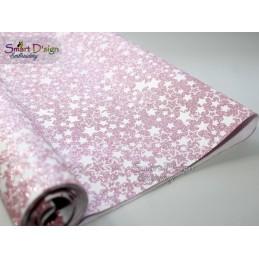 PINK STARS - Glitter Vinyl