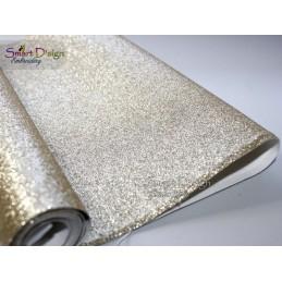 WHITE GOLD - Glitter Vinyl
