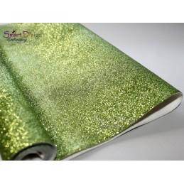 LIME GREEN - Glitter Vinyl