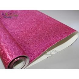 FUCHSIA - Glitter Vinyl