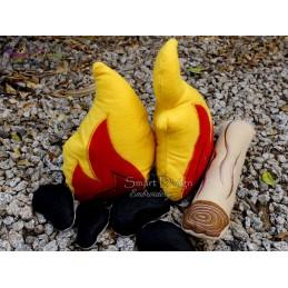 ITH FELT CAMP FIRE Stuffie Set