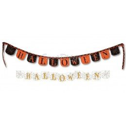 ITH Bunting HALLOWEEN 4x4 inch