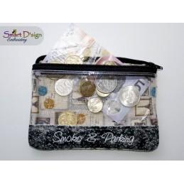 SLIM HELPERS - ITH Spy Window Zipper Bag