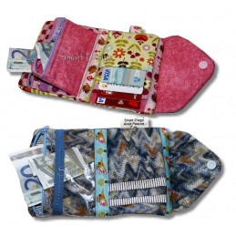ITH Wallet 4 Versions, incl. Pattern 5x7 inch