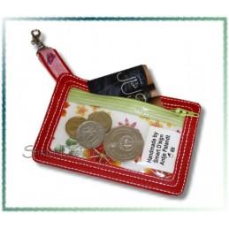 Karten & Kleingeldtasche für Schlüsselanhänger ITH