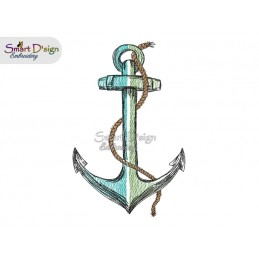 ANCHOR Blank Doodle Outline