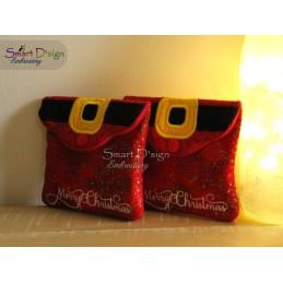 ITH CHRISTMAS BAG Set - Santas Belt