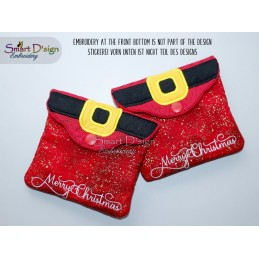 ITH CHRISTMAS BAG Set - Santas Belt
